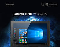 Планшет Chuwi Hi10 Z8300 4GB/64GB HDMI Windows10 + Android 5.1, фото 1