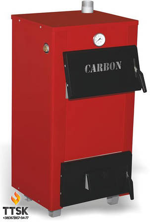 Двухконтурный твердотопливный котёл Carbon КСТО-18В