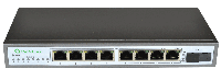 POE коммутатор 8 портов PoE Switch PL-981GS-FB