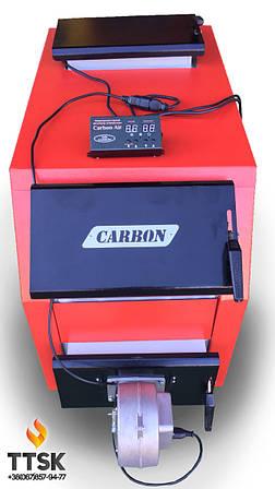 Котел твердотопливный Carbon КСТО-16ДГ