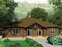 Строительство дома из сип панелей 254,58 м.кв., «КОЗАЧОК»