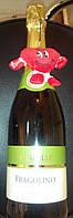 Итальянское белое игристое вино с земляникой Фраголино Белое Fragolino Bianco 0,75L, фото 1