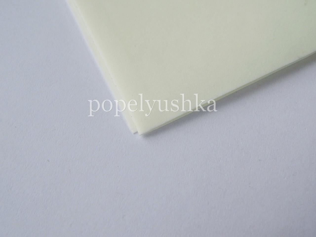 Фоам 2 мм 25*30 см китайський молочний