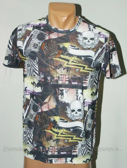 Мужская футболка абстракция Турция №503