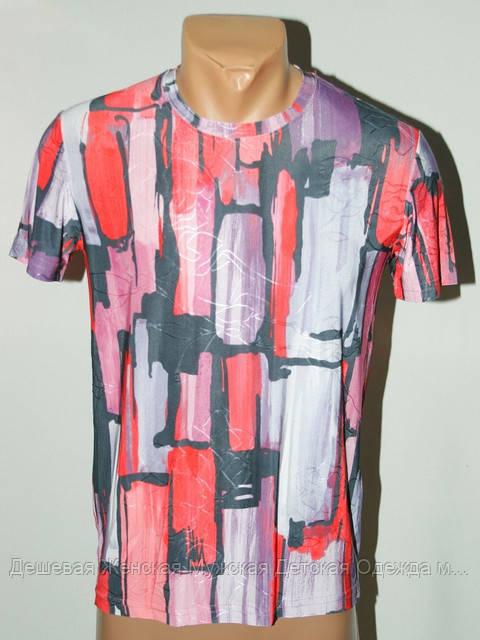 Мужская футболка орнамент цветной Турция №504