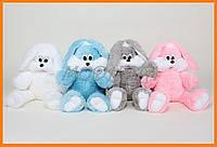 Плюшевый заяц Снежок - Большой мягкий заяц 100см
