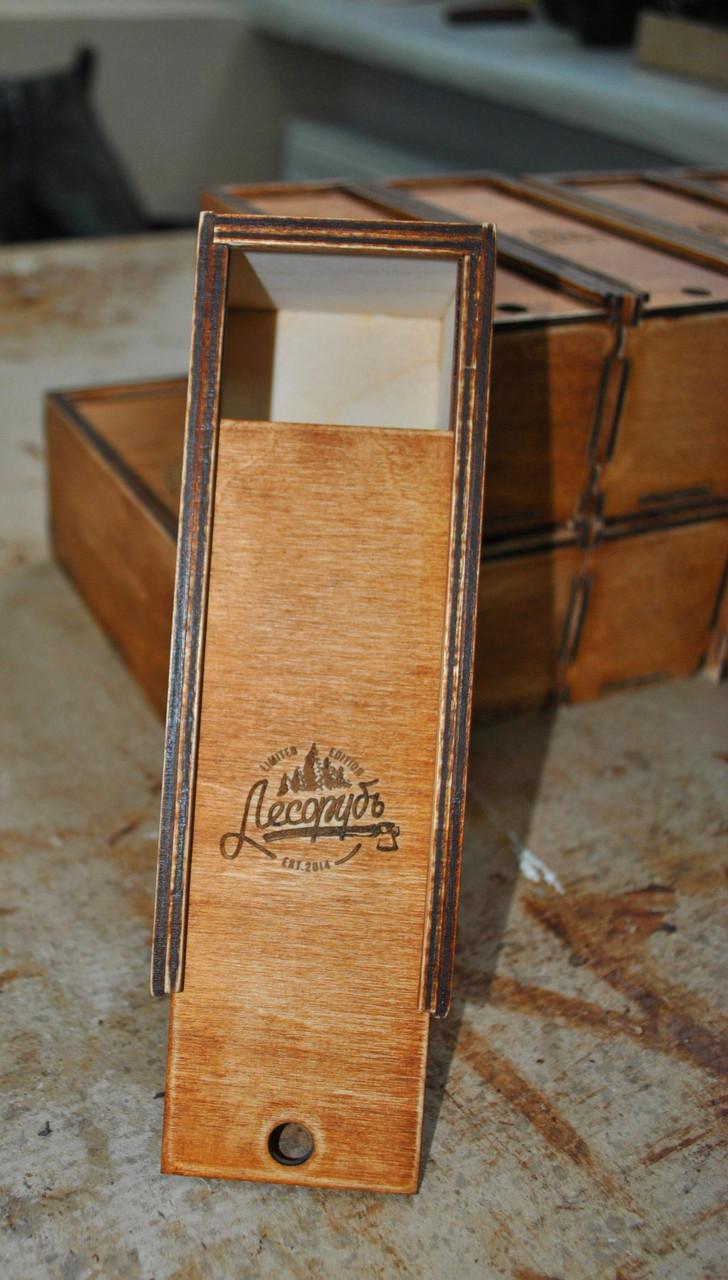 Деревянная коробка для сувениров и подарков - DOMINO Studio в Житомире