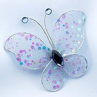 Бабочка голубая (дымчатая)