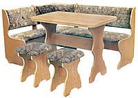 Кухонный уголок Барон (стол+диван+2 табурета)