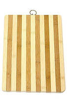Кухонная доска разделочная 240*340 толщина 14 мм  Бамбук