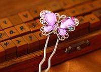 Заколка-вилка для волос «Бабочка», фото 1