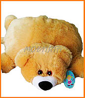 Мягкая подушка игрушка Медвежонок - Подушка мишка 55см