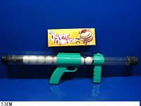 Пистолет 1054 48шт2 стреляет шариками для пинпонга, в пакете 53см