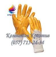 Перчатки нитриловые желтые (от 50 шт.)