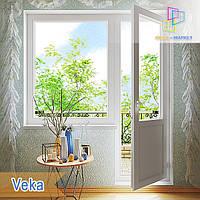 Вихід на балкон Veka Euroline, Veka Softline, фото 1