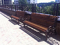 Скамейки чугунные, фото 1