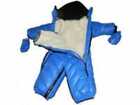 Комбинезон-трансформер на меху для мальчика