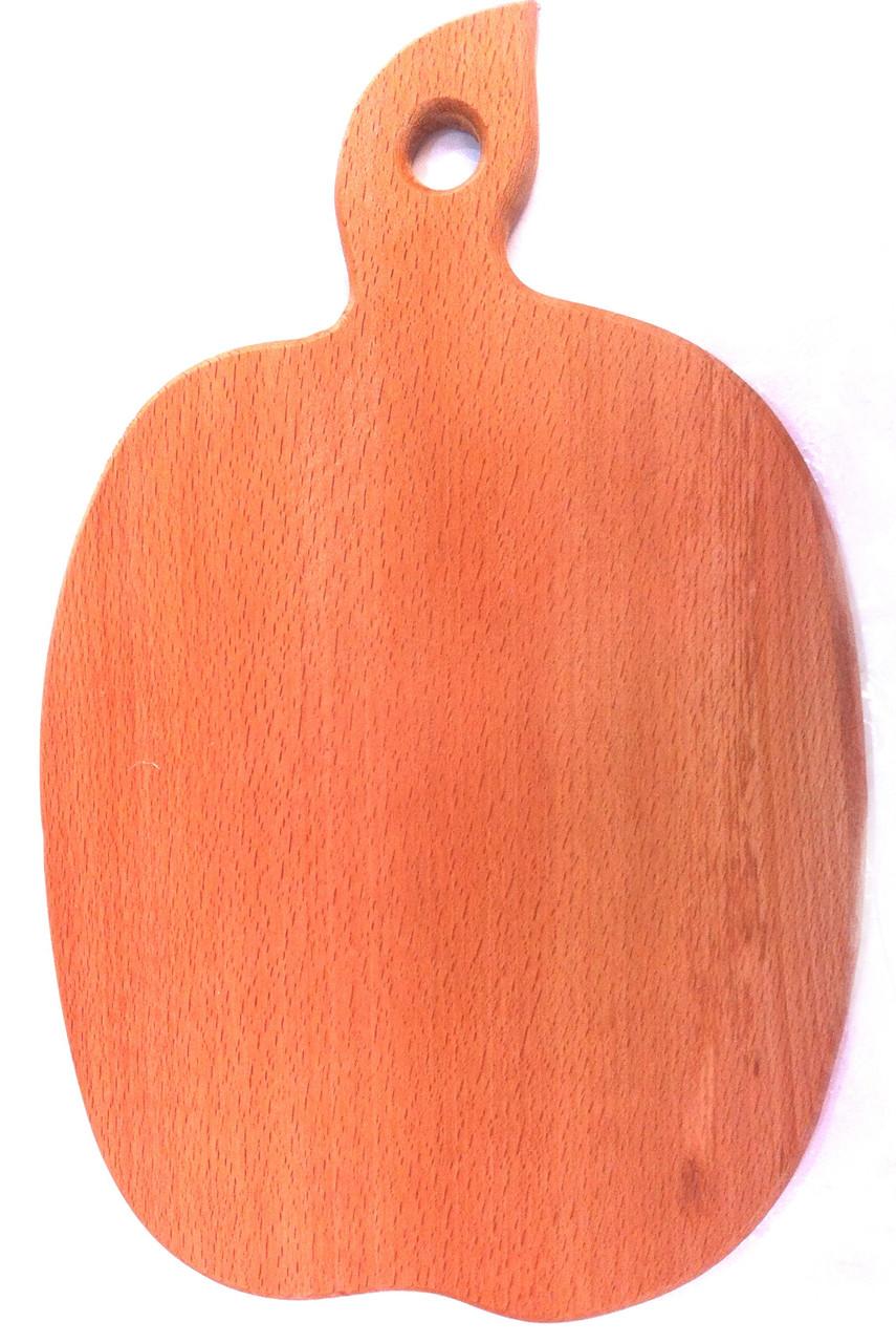 Доска кухонная, форма яблоко, 23х35,5см