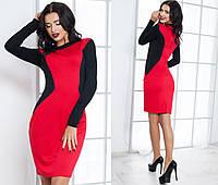 Платье красное 11- 1036