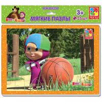 Мягкие пазлы А4 Маша и Медведь 35 эл. VT1102-08