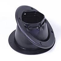 Уплотнитель тросов со стяжкой черный, фото 1
