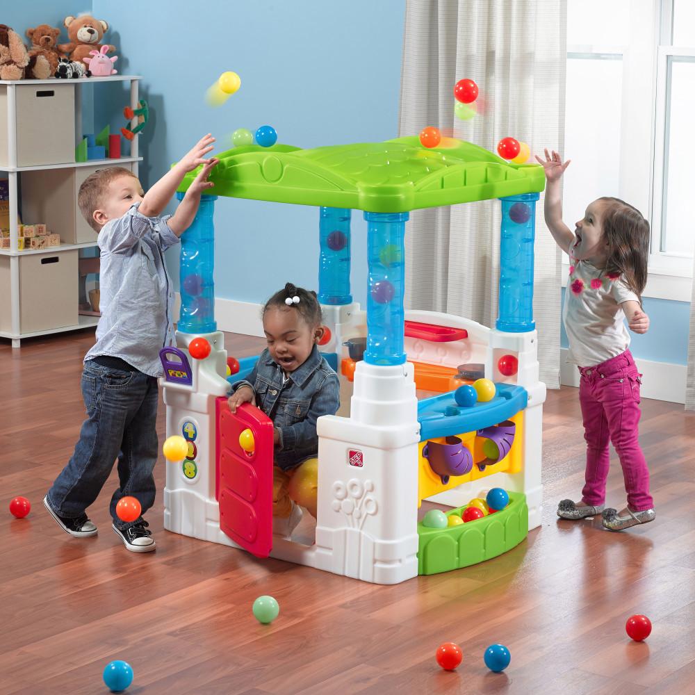 """Розважальний будиночок """"Дивні кульки"""" (Степ2) прокат в Харкові"""