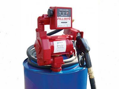 Расширение ассортимента насосов и заправочных модулей для бензина, керосина, топлива от компании Fill-Rite (США)