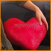 Мягкая игрушка подушка Сердце 37см