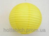 Бумажный фонарь желтый