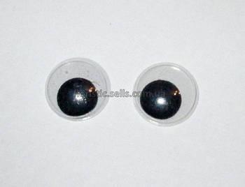 Круглі оченята для іграшок 18 мм