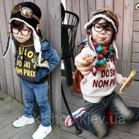 Детские шапочки «Авиатор»