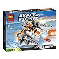 Конструктор Bela 10361 аналог LEGO Star Wars Снеговой спидер 97 деталей, фото 1