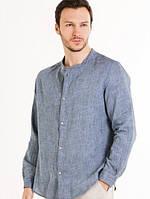 Рубашка мужская лен