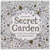Раскраска Антистресс Волшебный сад 25х25 см, 48 листов