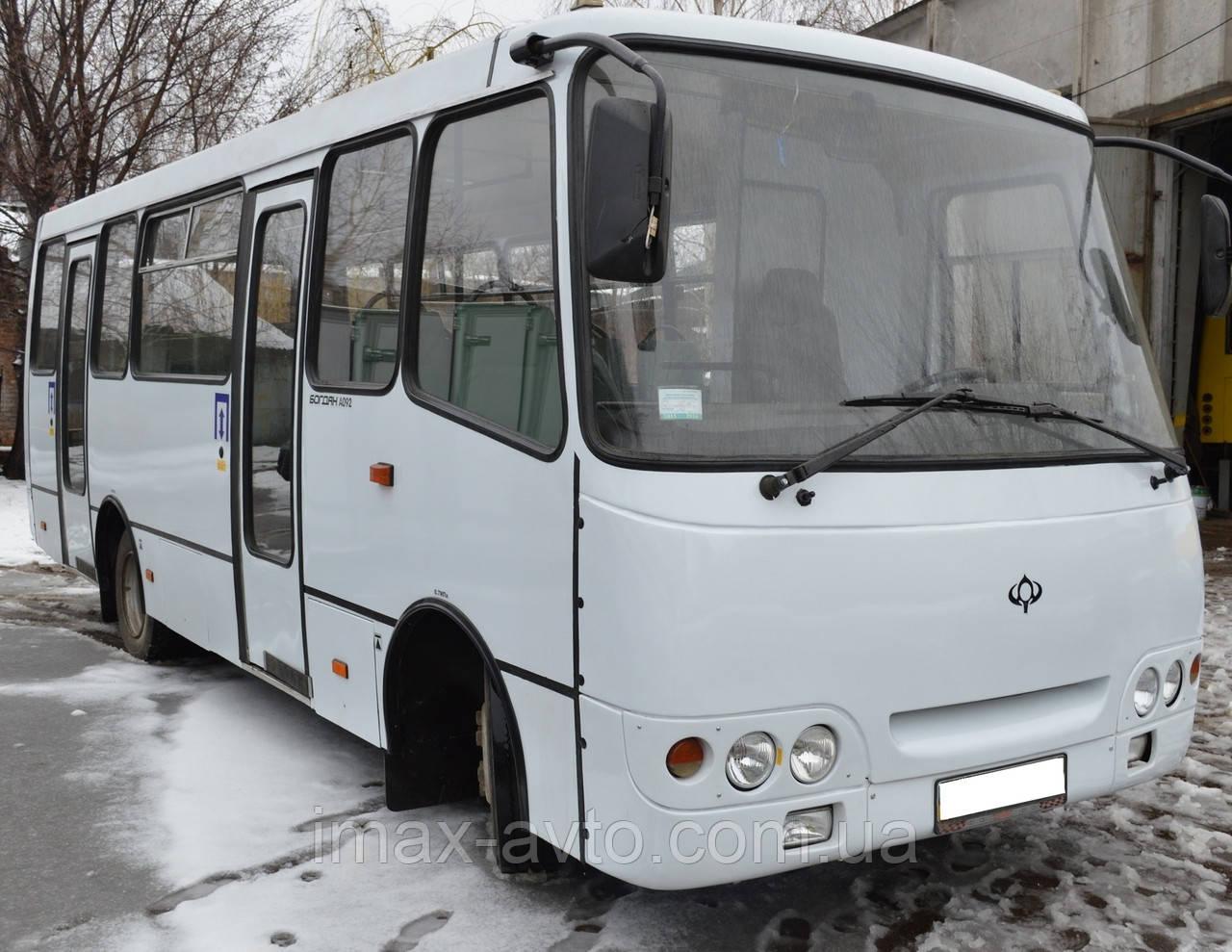 Кузовной ремонт автобусов Богдан А092