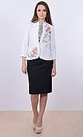 Вышитый пиджак «Букет лилий » , фото 1