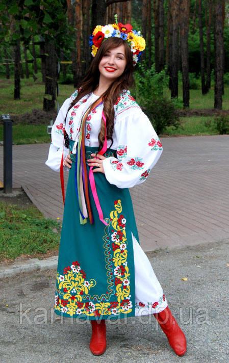 """Костюм """"Украиночка"""" напрокат"""
