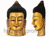 Золотой Будда Маска декоративная