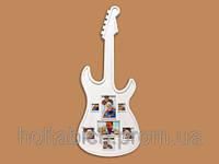 Рамка в форме гитары