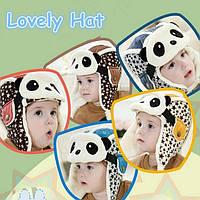 Детские зимние шапочки «Panda Stars»
