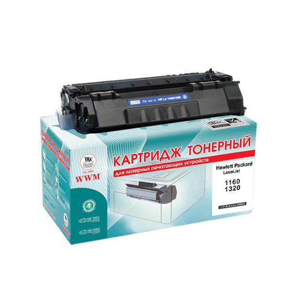 Картридж тонерный WWM для HP LJ 1160/1320 аналог Q5949A (LC17N)