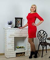Платье с бантом красное, фото 1