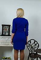 Платье с бантом электрик, фото 1