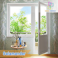 "Балконний блок Salamander Euro 2D 1800x2100 ""Окна Маркет"", фото 1"