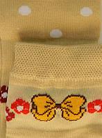 Комплект для девочек: лосины, носки (цвет беж), рост 98-104 см