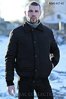 Демисезонная куртка мужская Клеточка (р.50-56)