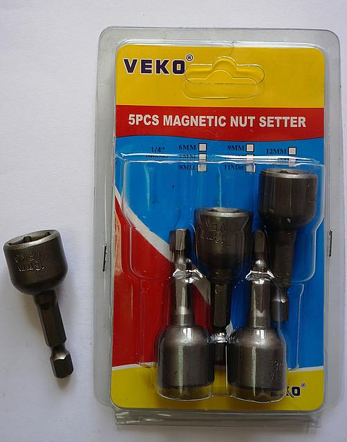 Насадки для кровельных саморезов VEKO 13*50мм