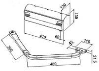Комплект електромеханічних важільних приводів для розпашних воріт побутового застосування 390, фото 3
