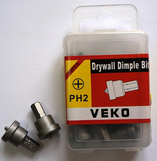 Бита с ограничителем VEKO PH2*25MM (10 шт. в упаковке)