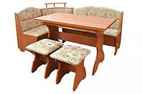 Кухонный уголок Сенатор (стол+диван+2 табурета)